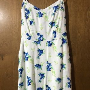 S.O Sundress - White Floral XSmall